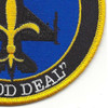 121st Fighter Squadron Det. New Orleans Patch | Lower Right Quadrant