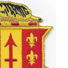 121st Field Artillery Regiment Patch | Upper Right Quadrant