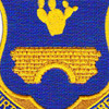 120th Infantry Regiment Crest Patch | Center Detail
