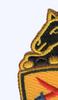 11th Armored Cavalry Regiment Patch | Upper Left Quadrant