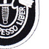 5th Special Forces Group Flash With Crest Small Version Patch | Lower Right Quadrant