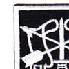 5th Special Forces Group Flash With Crest Small Version Patch | Upper Left Quadrant