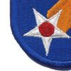 11th Air Force Shoulder Patch | Lower Left Quadrant