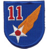 11th Air Force Shoulder Patch