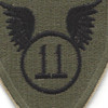 11th Airborne Infantry Division Airborne OD Patch | Center Detail