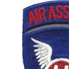 11th Airborne Infantry Assault Division Patch | Upper Left Quadrant