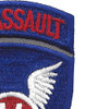 11th Airborne Infantry Assault Division Patch | Upper Right Quadrant