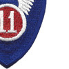 11th Airborne Infantry Assault Division Patch | Lower Right Quadrant