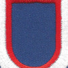 11th Airborne Division Pathfinders Flash Patch | Center Detail