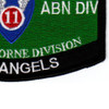 11Th Airborne Division Military Occupational Specialty MOS Patch | Lower Right Quadrant