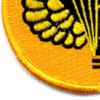 11th Airborne Division Jump School Patch | Lower Left Quadrant