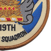 119th Fighter Squadron Patch | Lower Right Quadrant