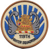 119th Fighter Squadron Patch