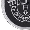 5th Special Forces Group Flash 1962-1964 With Crest Patch   Lower Left Quadrant
