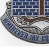 118th Infantry Regiment Patch | Lower Left Quadrant