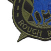 118th Cavalry Regiment OD Green Patch Hook And Loop | Lower Left Quadrant