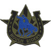 118th Cavalry Regiment OD Green Patch Hook And Loop