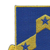 117th Infantry Regiment Patch | Upper Left Quadrant