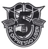5th Special Forces Group Crest Patch