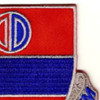 116th Field Artillery Regiment Patch | Upper Right Quadrant
