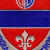116th Field Artillery Regiment Patch | Center Detail