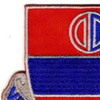 116th Field Artillery Regiment Patch | Upper Left Quadrant