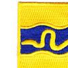 116th Cavalry Regiment Patch | Upper Left Quadrant
