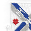 115th Infantry Regiment Patch | Upper Left Quadrant