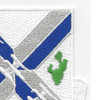 115th Infantry Regiment Patch | Upper Right Quadrant