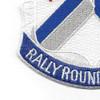 115th Infantry Regiment Patch | Lower Left Quadrant