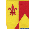 115th Field Artillery Regiment Patch | Upper Left Quadrant