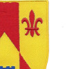 115th Field Artillery Regiment Patch | Upper Right Quadrant