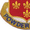 115th Cavalry Regiment Patch | Lower Left Quadrant