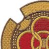 115th Armored Cavalry Regiment Patch | Upper Left Quadrant