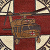 1159th Medical Company Air Ambulance Dustoff Patch | Center Detail