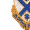 114th Infantry Regiment Patch | Lower Left Quadrant