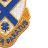 114th Infantry Regiment Patch   Lower Right Quadrant