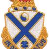 114th Infantry Regiment Patch   Center Detail