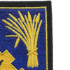 114th Cavalry Regiment Patch | Upper Right Quadrant