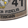 1141 Electrician MOS Desert Patch | Lower Right Quadrant