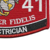 1141 Electrican MOS Patch | Lower Right Quadrant