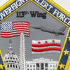 113th Wing DC Air National Guard Patch | Center Detail