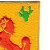 113th Cavalry Regimen Patch | Upper Right Quadrant