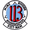 113 River Sweepers Mine Division Patch