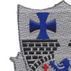 112th Infantry Regiment Patch | Upper Left Quadrant
