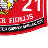 1121 Plumbing And Water Supply Specialist MOS Patch | Lower Right Quadrant