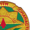 111th Ordnance Group Patch | Upper Right Quadrant