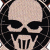 5th Special Forces Group Certified Ghost Patch Hook And Loop   Center Detail
