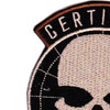 5th Special Forces Group Certified Ghost Patch Hook And Loop   Upper Left Quadrant