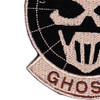 5th Special Forces Group Certified Ghost Patch Hook And Loop   Lower Left Quadrant